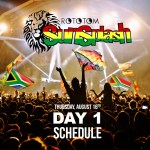 Rototom Sunsplash 2018 Day 1 - Schedule