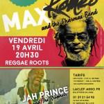 Apr. 19, 2019 - Max Roméo & The Charmax Band (France)
