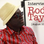 Interview with Rod Taylor [08/10/2019] Dreux, France
