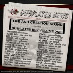 Life and Creation Sound - Dubplates Box Volume One