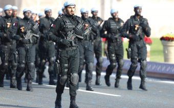 qatar police pared