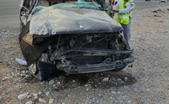 Two brothers killed in Ras Al Khaimah road crash