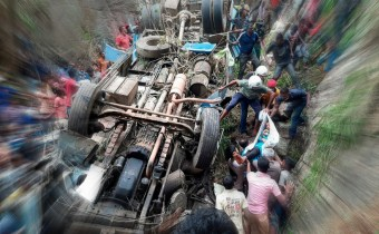 Bus accident in Bangladesh