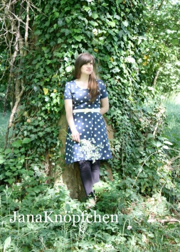 Kleid Ella nähen für Frauen. JanaKnöpfchen - Nähen für Jungs