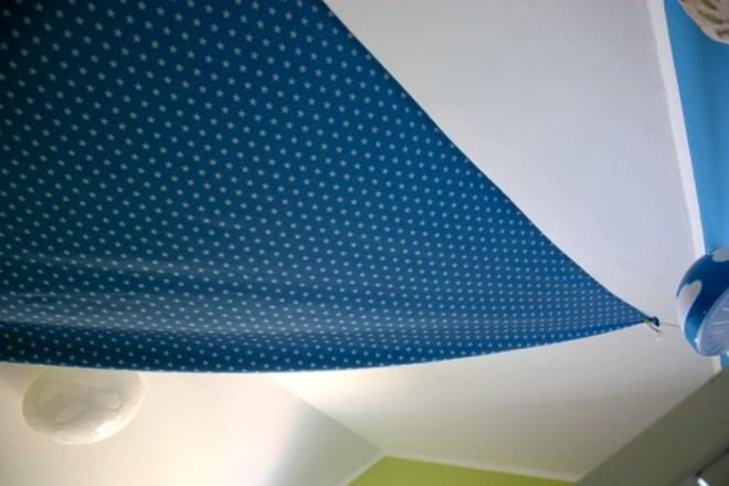 Sternen-Betthimmel nähen für gemütliches Schlafen im Kinderzimmer. JanaKnöpfchen - Nähen für Jungs
