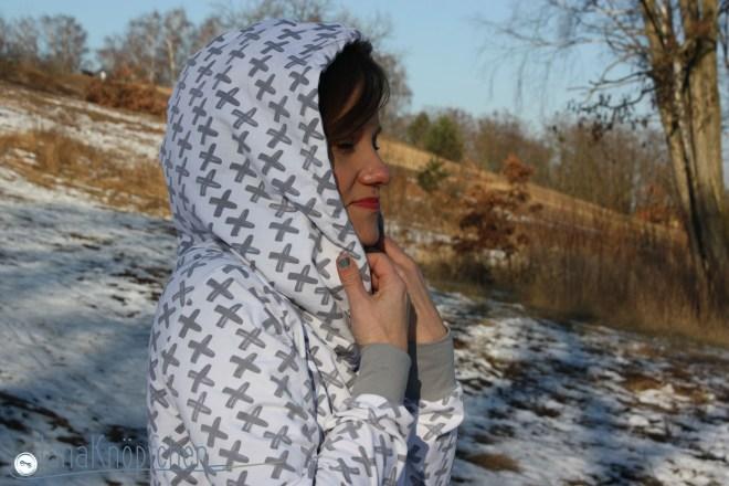 Hoodie Lynn genäht mit Kapuze für Frauen selbst nähen. Kapuzenhoodie Lynn von Pattydoo. JanaKnöpfchen - Nähen für Jungs. Nähblog