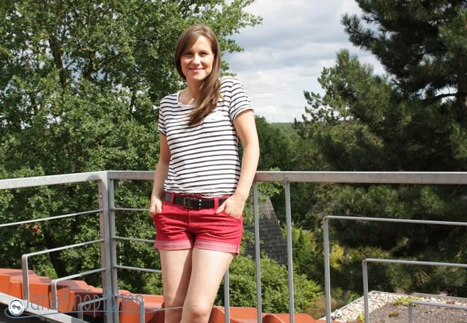 Nähprojekt: Shorts nähen für 12 colors of handmade fashion. JanaKnöpfchen - Nähen für Jungs