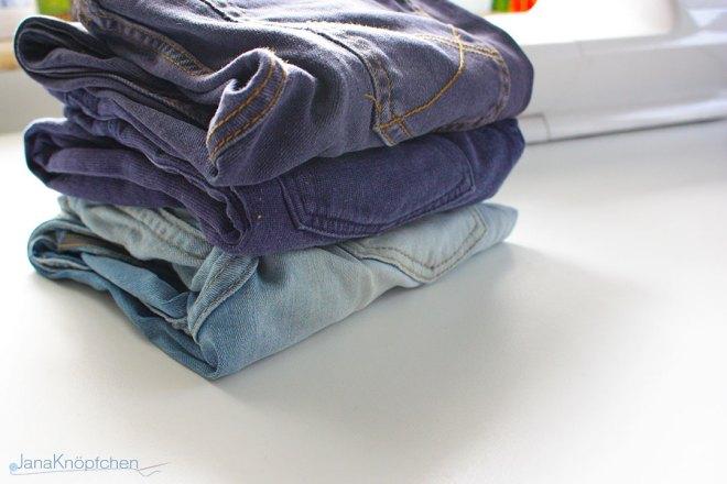 Tutoria: Jeans flicken Teil 2. Fertige Jeans. JanaKnöpfchen - Nähen für Jungs