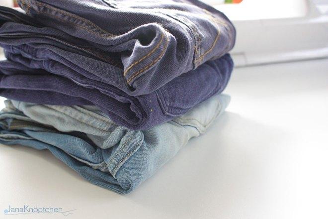 Blogpost Tutorial Jeans flicken Teil 2. JanaKnöpfchen - Nähen für Jungs