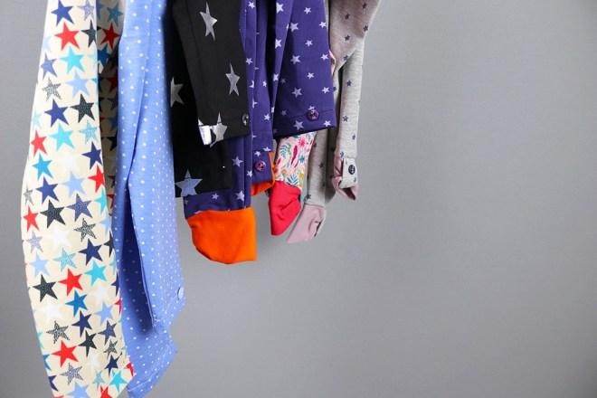 Blogpost bunte Leggings nähen für Mädchen. JanaKnöpfchen - Nähen für Jungs