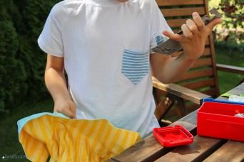 T-Shirt mit Brusttasche nähen. JanaKnöpfchen - Nähen für Jungs