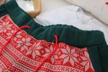 Weihnachtsshorts Bänder im Bündchen. JanaKnöpfchen - Nähen für Jungs