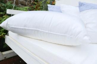 Kissen für Gartenschaukel nähen. JanaKnöpfchen - Nähblog