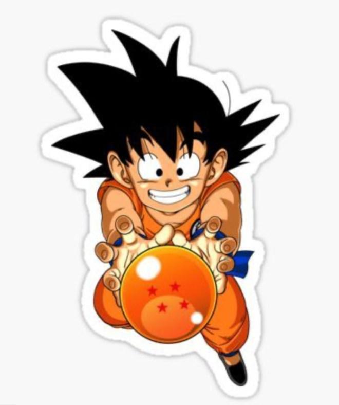 Son Goku Babyset_Applikationsvorlage Son Goku_JanaKnoepfchen