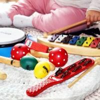 Musikalische Früherziehung - Musikinstrumente für Kinder