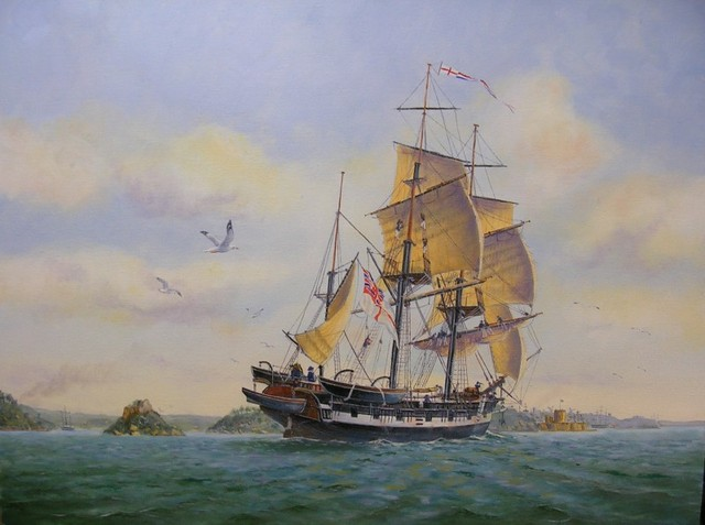 HMS Beagle Color