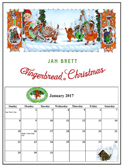 author jan brett 39 s free coloring video and activity pages