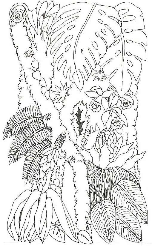tree trunk coloring page free coloring pages of a tree trunk