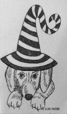 Dog Halloween Hat