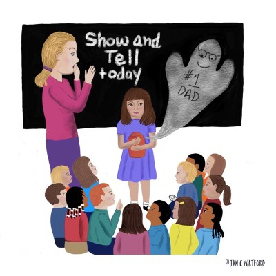 Show and Tell Illustration