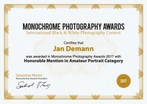 Monochrome Photography Awards Jan Demann