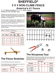 sheffield fences-https://www.jandnfeedandseed.com