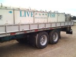 fish stock delivery at J&N Feed and Seed in Graham, TX