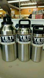 Yeti Rambler Bottles
