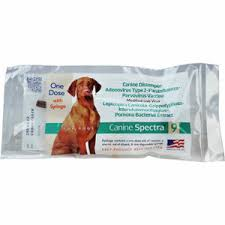 Spectra Canine Vaccines