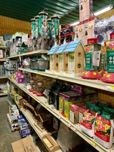 Winter bird feeding is easy with the help of J&N Feed and Seed in Graham, Texas