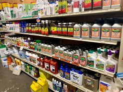 Weed and Brush Control products at  J&N Feed and Seed in Graham, Texas.