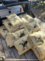 Double Down Deer Feed at J&N Feed and Seed in Graham, Texas.