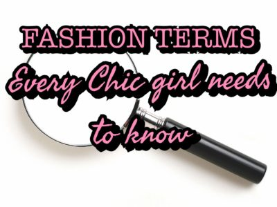 fashion terms