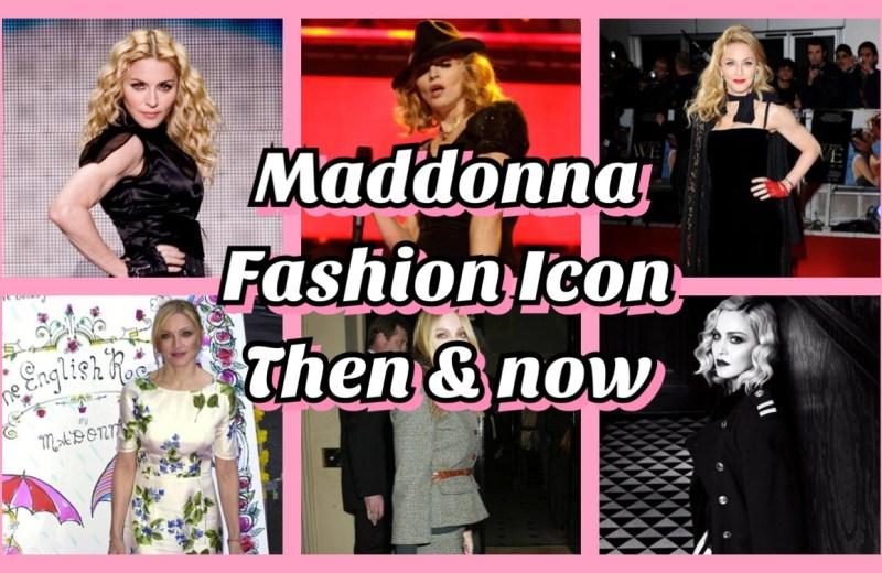 madonna fashion model