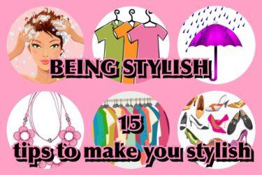 being stylish