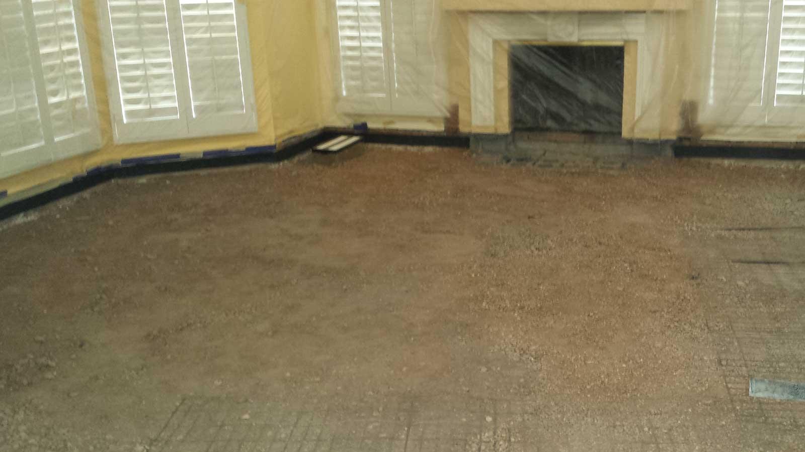 Before Filling In Sunken Living Room Part 42
