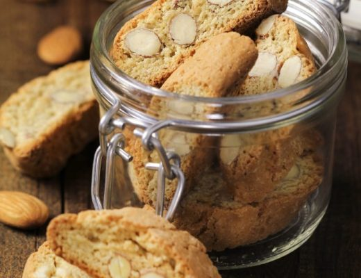 Gingerbread almond biscotti - perfect for holiday dunking!