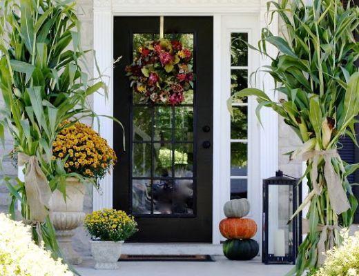 25 Fresh Fall Porch Ideas