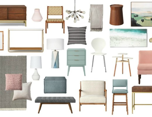 Loving the new Project 62 home collection at Target! Here are a few of my favorites!