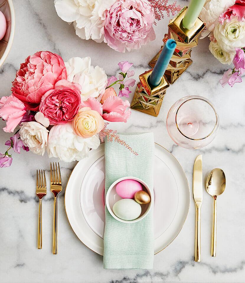 21 Beautiful Easter Table Setting Ideas