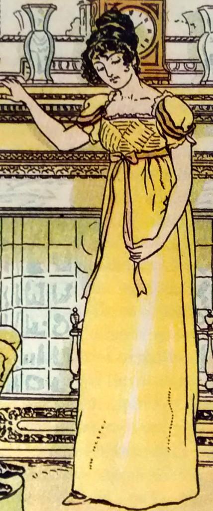 Emma Woodhouse por C E Brock, série entintada