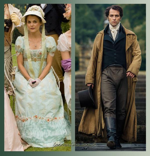 Mr. Darcy, Matthew Rhys - Keri Russell