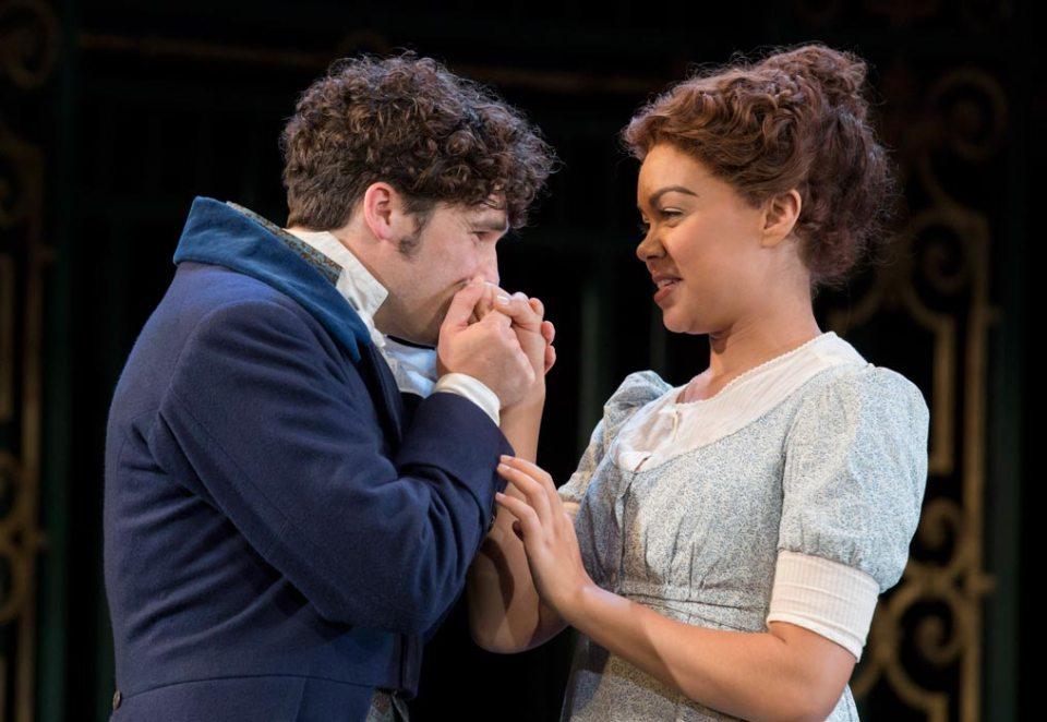 Mr Bingley - Jordan Mifsúd & Miss Jane Bennet - Hollie Edwin