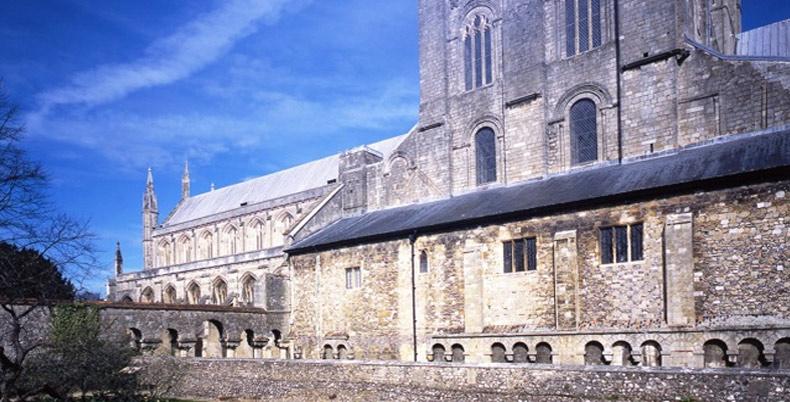 Winchester Cathedral. foto do site da catedral