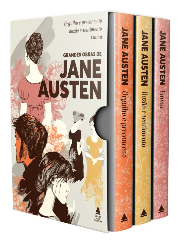 Caixa Grandes Obras de Jane Austen - Editora Nova Fronteira