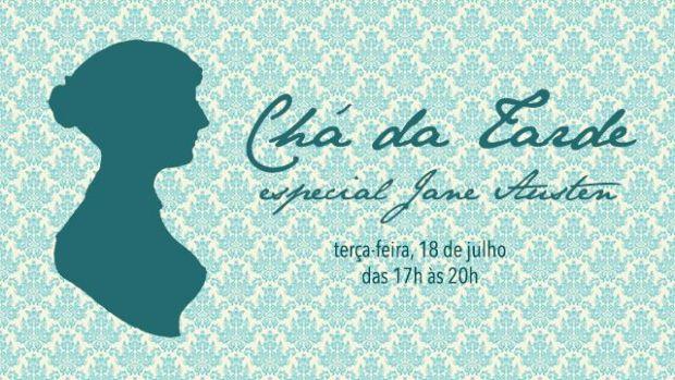 Chá Jane Austen na Confeitaria Colombo