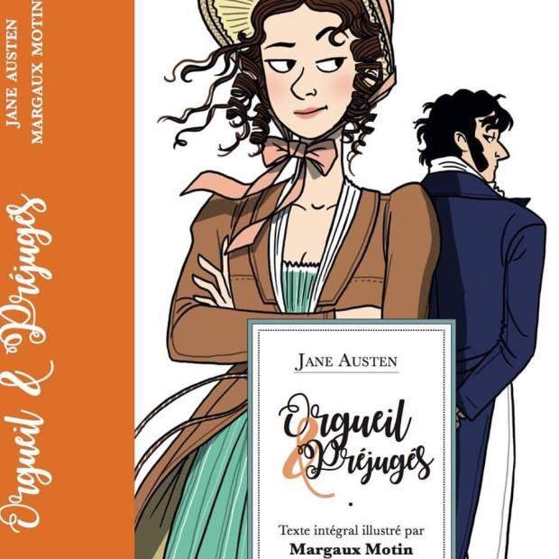 Orgueil & Préjugés ilustrações de Margaux Motin