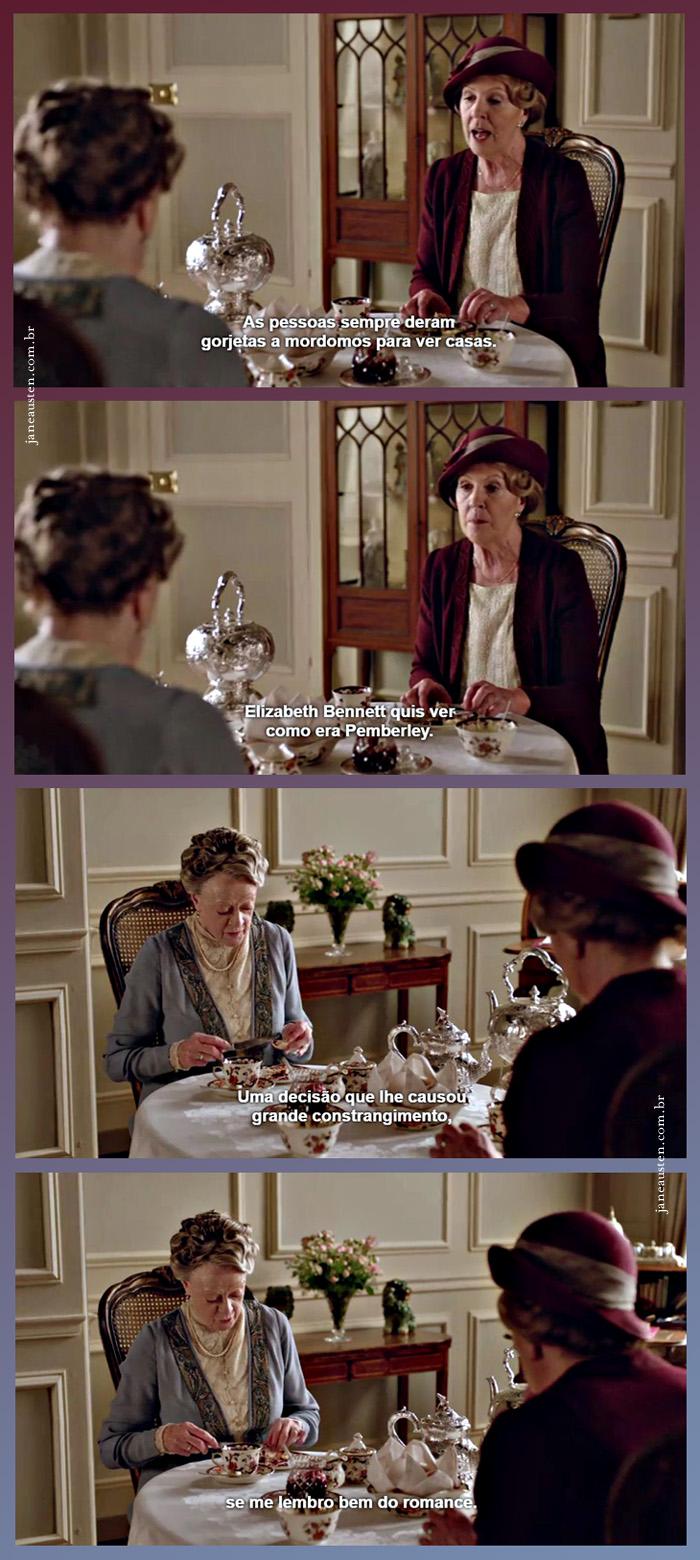 Downton Abbey Elizabeth Bennet