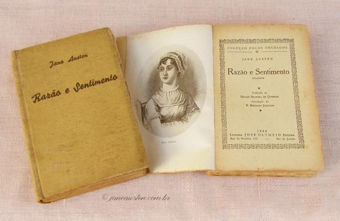 Primeiras traduções de Jane Austen no Brasil - Razão e sentimento