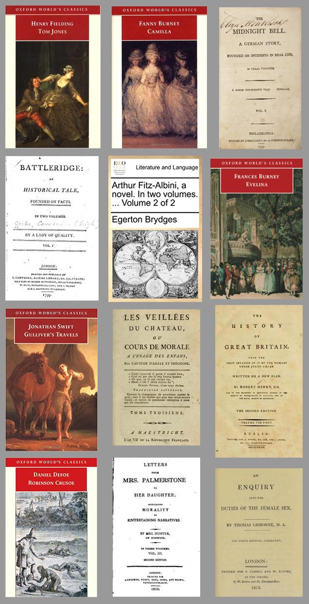 Livros que Jane Austen leu